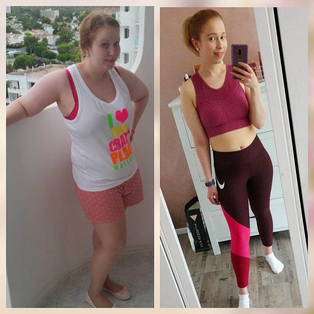 Haut abnehmen 30 kg 30 Kilo