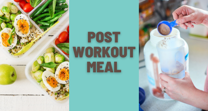Port workout Meal/ Essen nach dem Sport, Proteinshake