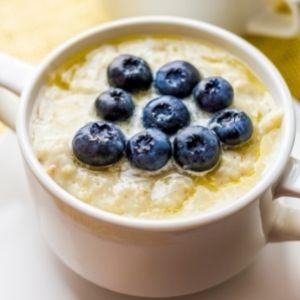 Blaubeer Porridge